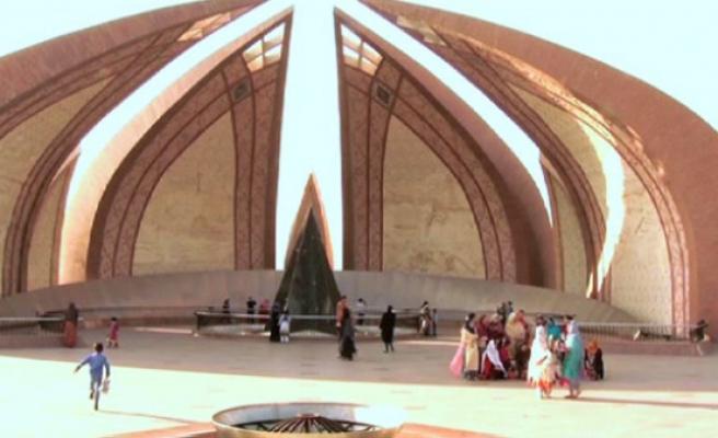 İslamabad'ın simgesi Pakistan anıtı (video)