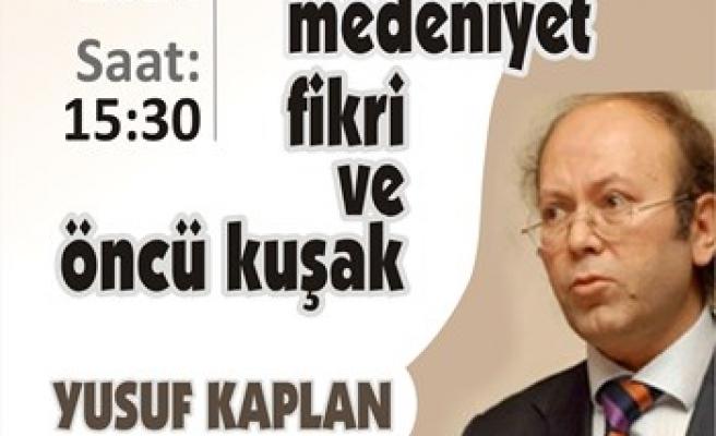 Yusuf Kaplan Ankara İlahiyatta