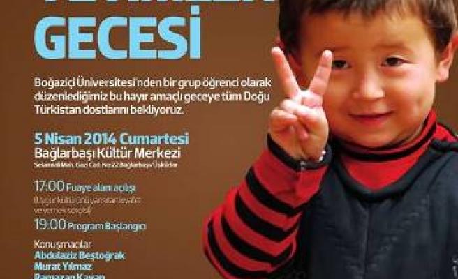 Doğu Türkistanlı yetimler unutulmadı