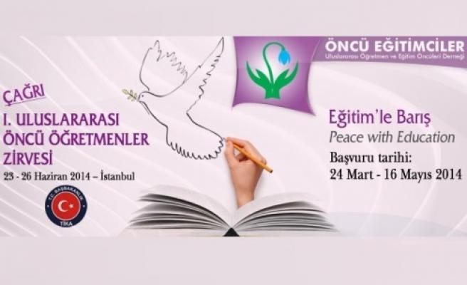 Eğitim'le Barış sempozyumu