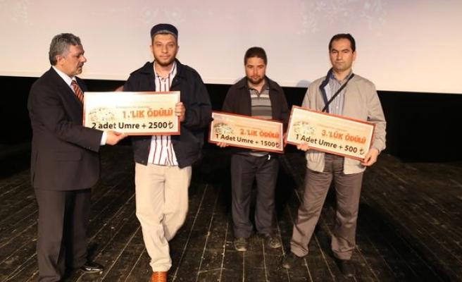 Kur'an meali yarışmasının ödülleri verildi