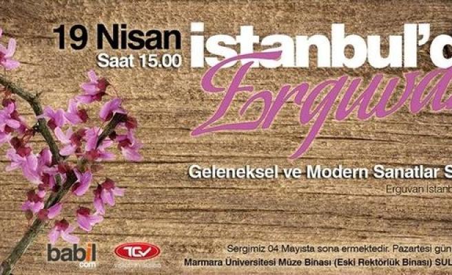 Erguvan İstanbul sergisi açılıyor!