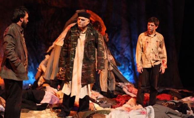 Aliya'nın mücadelesi tiyatro sahnesinde