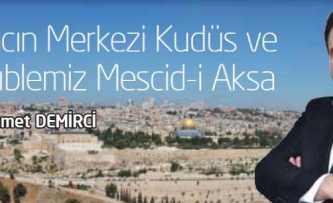 Muhammet Demirci Kudüs'ün tarihini anlatacak