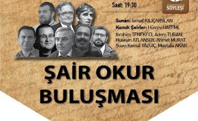Zeytinburnu'nda şairler buluşması