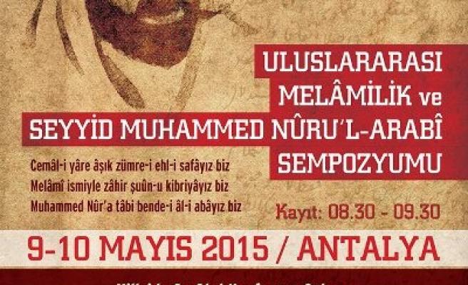 Antalya'da Melamilik Sempozyumu