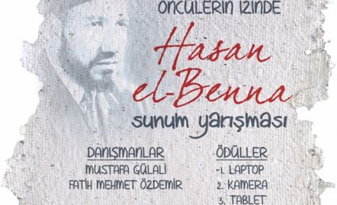 Gençler Hasan el Benna'yı anıyor