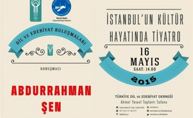 İstanbul'un kültür hayatında tiyatro