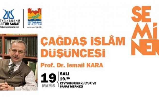 İsmail Kara'dan İttihad-ı İslam semineri