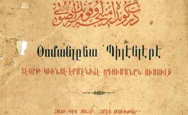Ermenice edebiyat metinlerini ele alacak