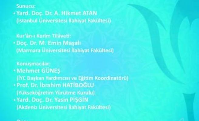 Bursa'da 9. Hadis İcazet Merasimi