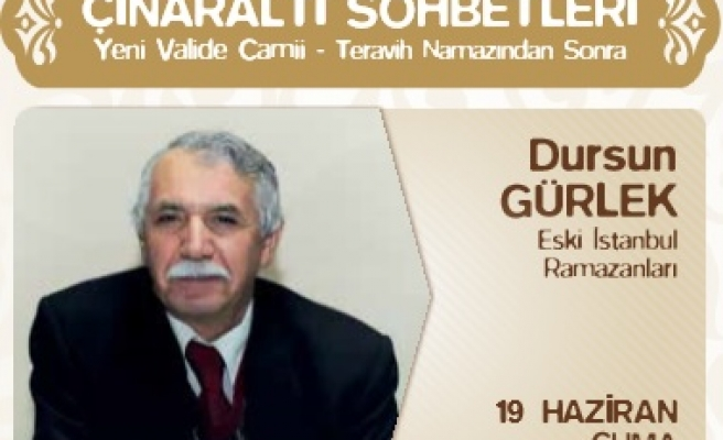 Eski İstanbul Ramazanlarını anlatacak