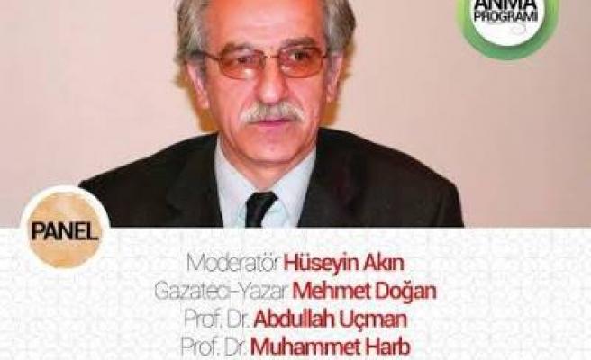 Mustafa Miyasoğlu Eyüp'te anılacak