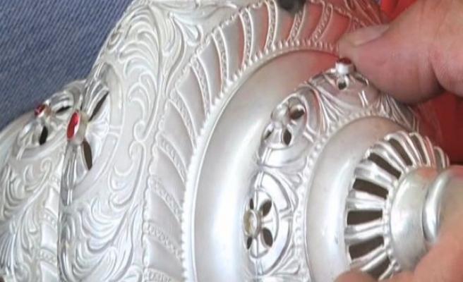 Yanya'da gümüş işçiliği ustaların aşkıyla ayakta (video)