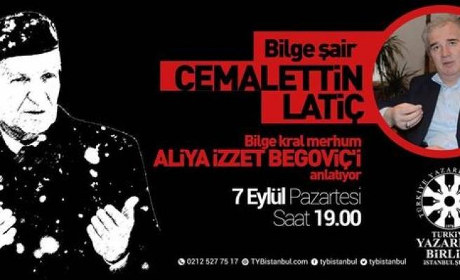 Cemalettin Latiç Aliya'yı anlatacak