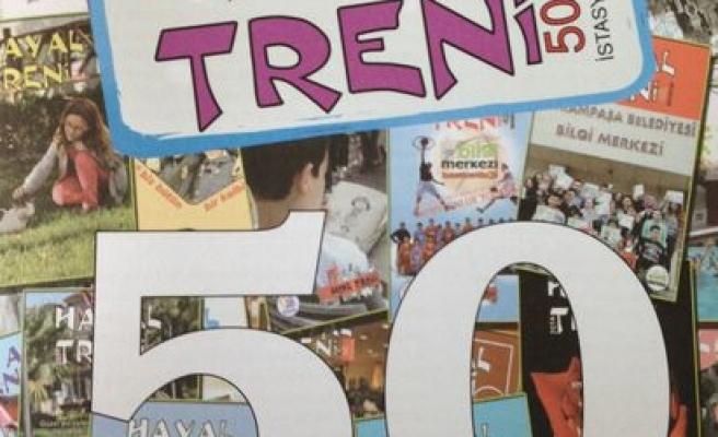 Hayal Treni dergisi 10 yaşında