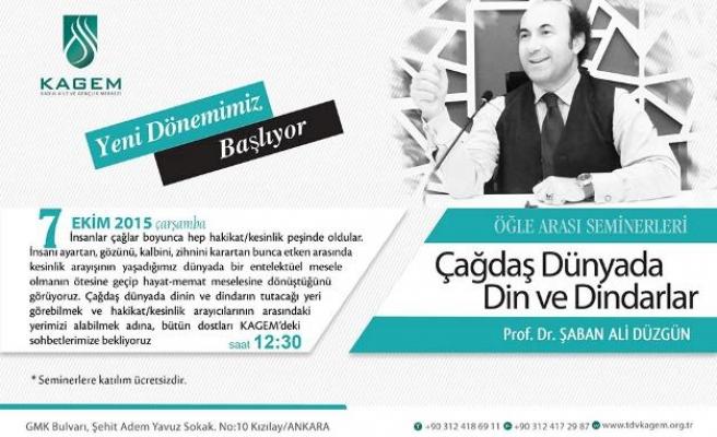 Ankara'da öğle arası seminerleri