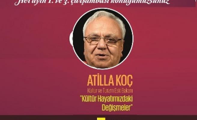 Atilla Koç Ankara'da