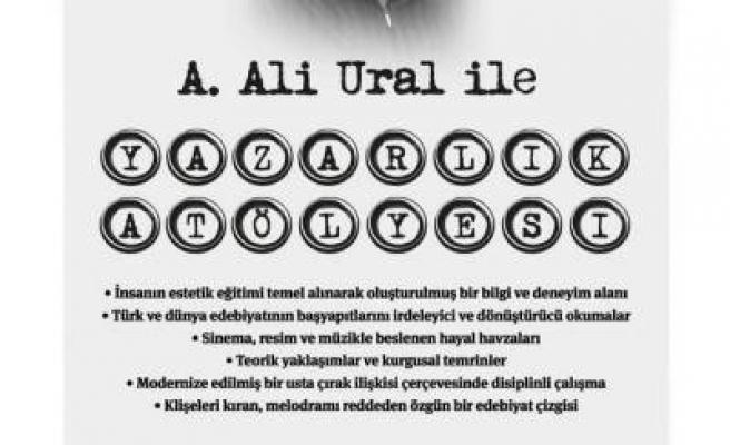 Ali Ural'ın Yazarlık Atölyesi başlıyor