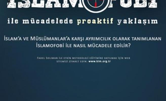 İslamofobi ile mücadelede proaktif yaklaşım