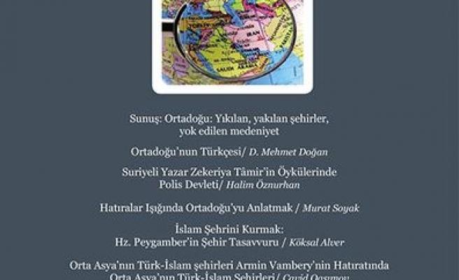 TYB Akademi'den Ortadoğu dosyası