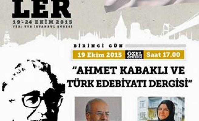 Türk Edebiyatı dergisi konuşulacak
