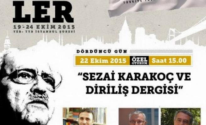 Sezai Karakoç ve dergisini konuşacaklar