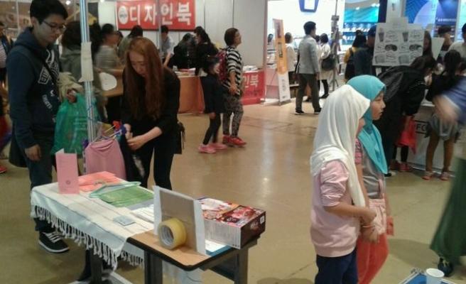 Kore'de bir kitap fuarında daha İslam'ı anlattık