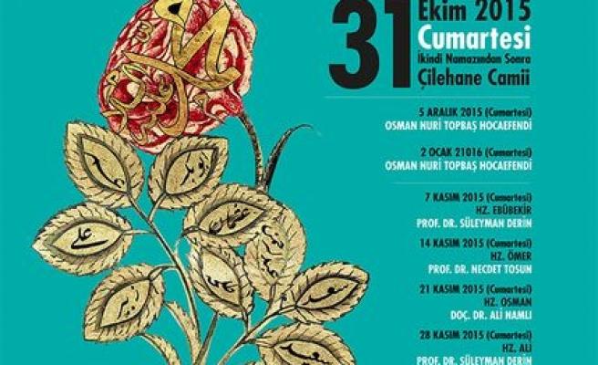 Çilehane Camii'nde 'İkindi Sohbetleri' başlıyor