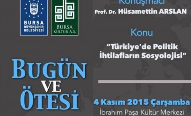 Türkiye'de politik ihtilafların sosyolojisi