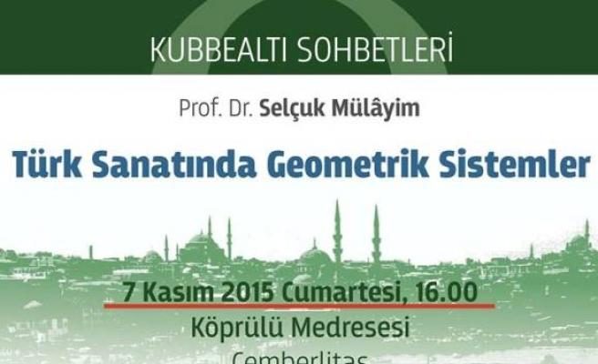 Türk sanatında geometrik sistemler
