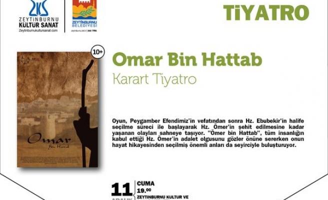 'Omar Bin Hattab' oyunu sahnede