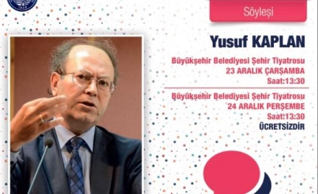 Yusuf Kaplan Kayseri'de
