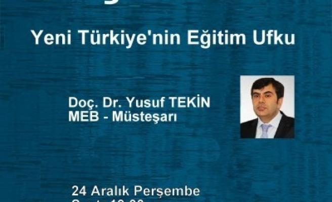 Yeni Türkiye'nin eğitim ufku