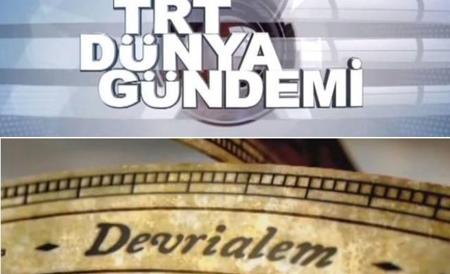 Dünya Gündemi ve Devrialem artık TRT Avaz'da