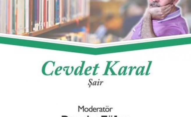 Cevdet Karal Şiir Kıraathanesi'nde