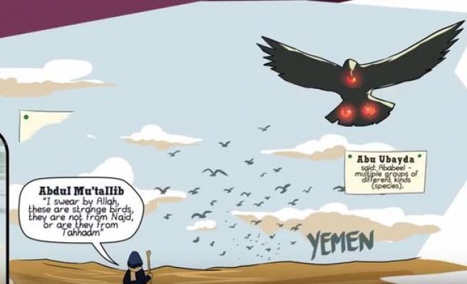 Kur'ân'daki sureleri çizimlerle gençlere anlatıyor