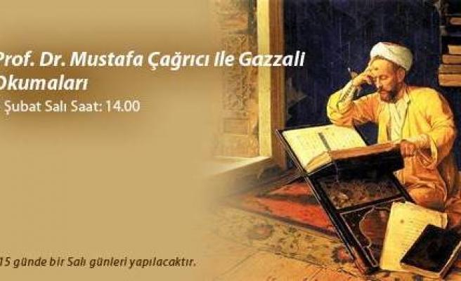 Mustafa Çağrıcı ile Gazzâlî okumaları