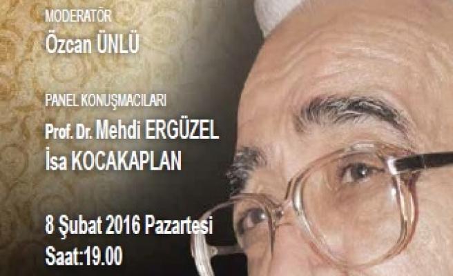 Ahmet Kabaklı anılacak