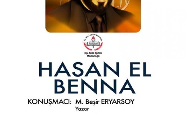 Hasan El Benna Bağcılar'da anılacak