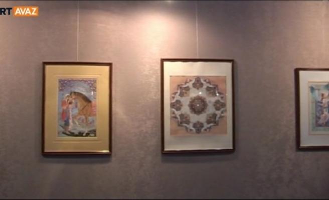 İran sanatı Tiran'da sergileniyor (video)
