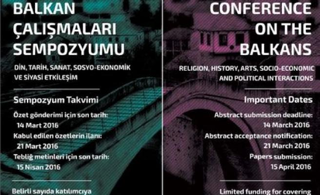 Uluslararası Balkan Çalışmaları Sempozyumu