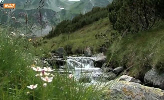 Sofya'yı Kucaklıyor Vitoşa Dağı (video)