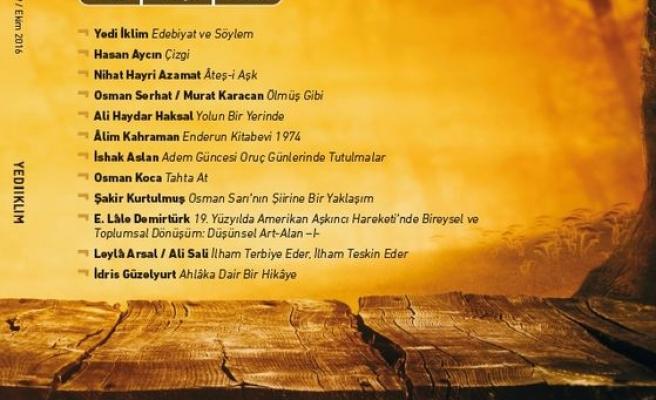 Yedi İklim dergisinin 319. sayısı çıktı