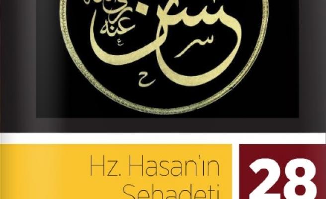Hz. Hasan'ın şehadetini anlatacaklar