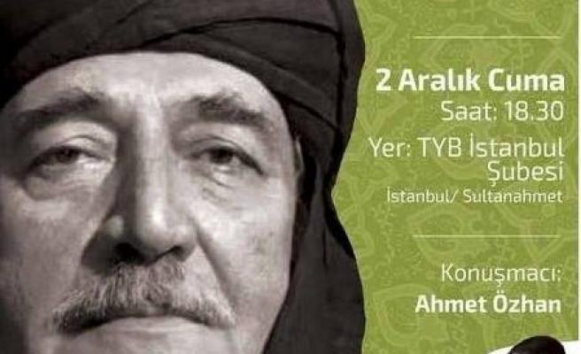 Ahmet Özhan, sahaflar şeyhini anlatacak