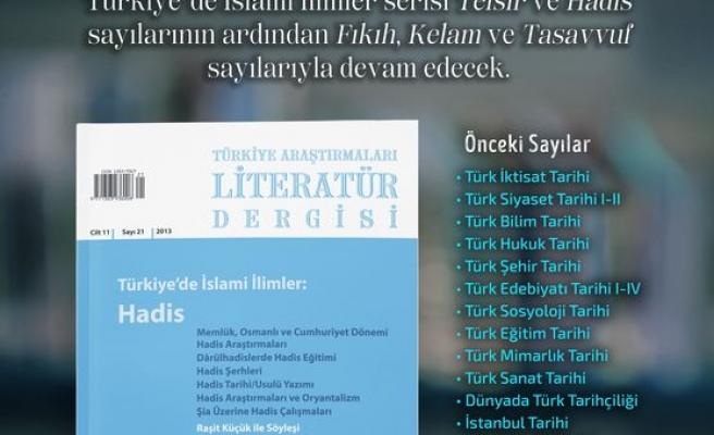 TALİD'in 'Hadis' sayısı çıktı