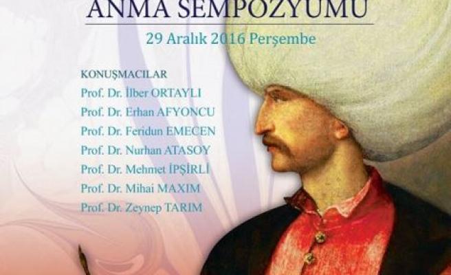 Vefatının 450. Yılında Kanuni Sultan Süleyman