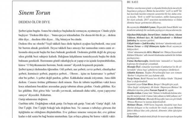 Dergâh dergisinin 323. sayısı çıktı
