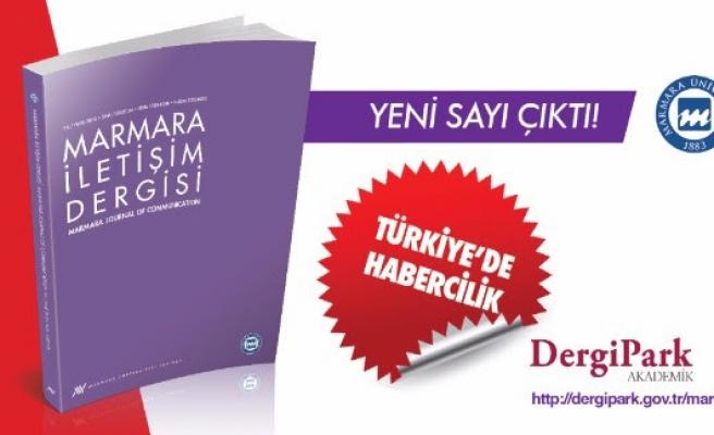 Marmara İletişim'den 'Türkiye'de Habercilik' dosyası